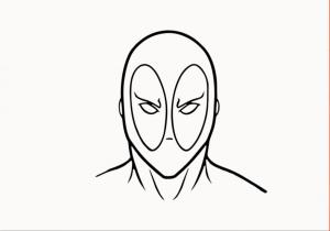 deadpool drawing