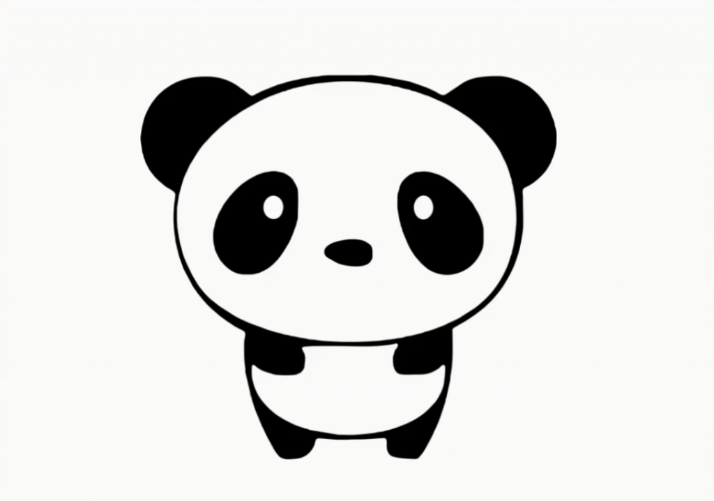 Cute Panda Drawing Step By Step Welcome To My 3d World