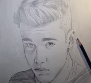 Justin Bieber Sketch