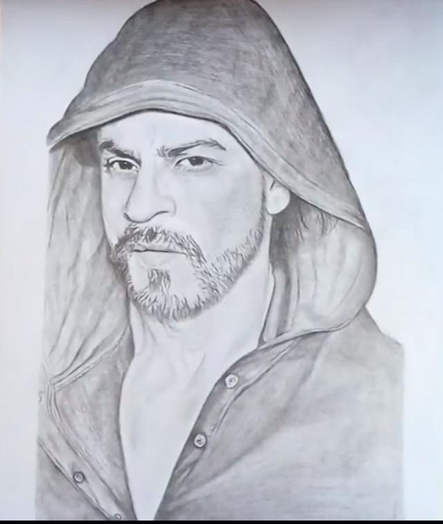 shahrukh khan sketch