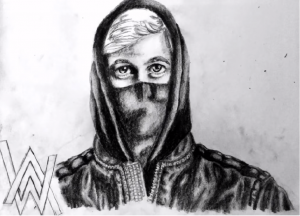 alan walker sketch