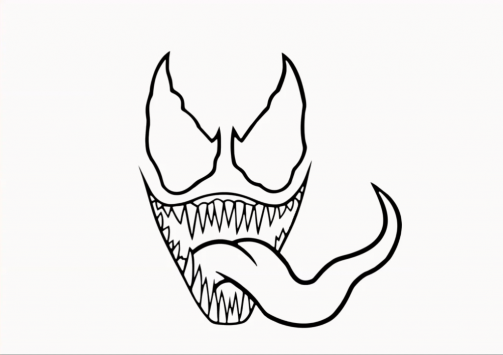 Venom Drawing