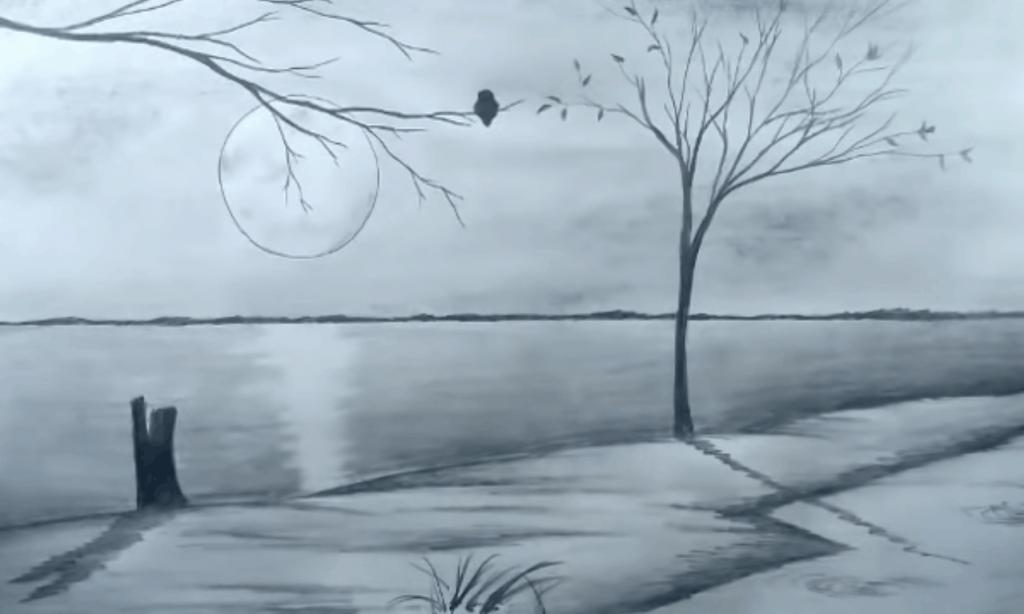 Scenery sketch