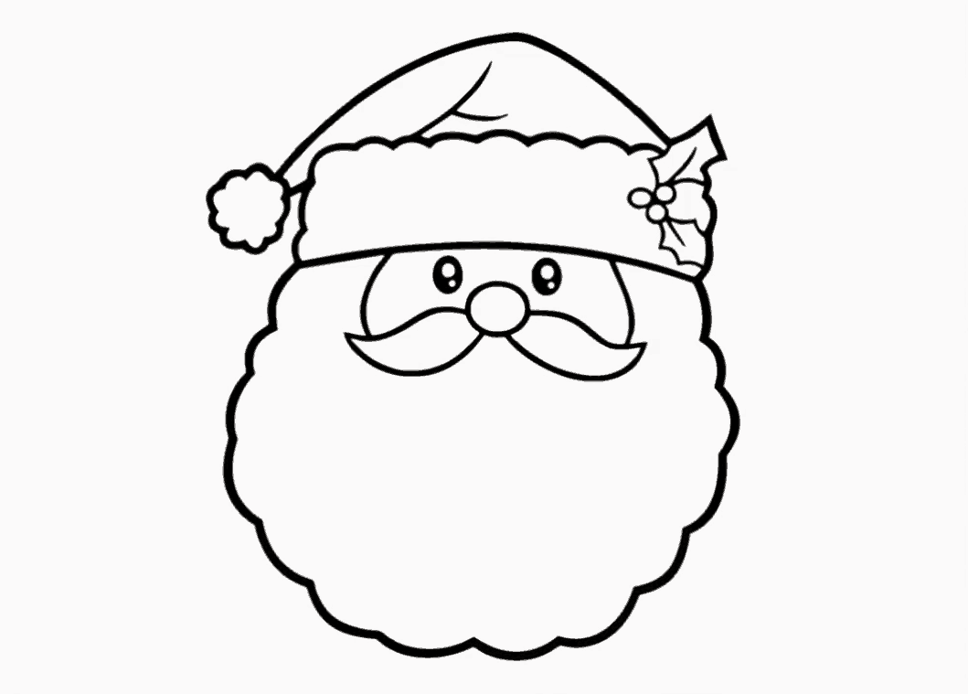 The Best Santa Claus Drawing For Kids