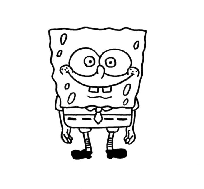 Draw Spongebob