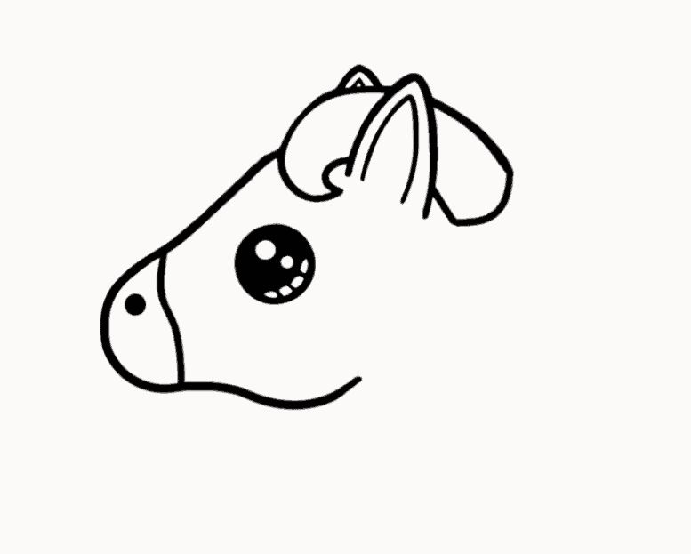 Easy unicorn drawing