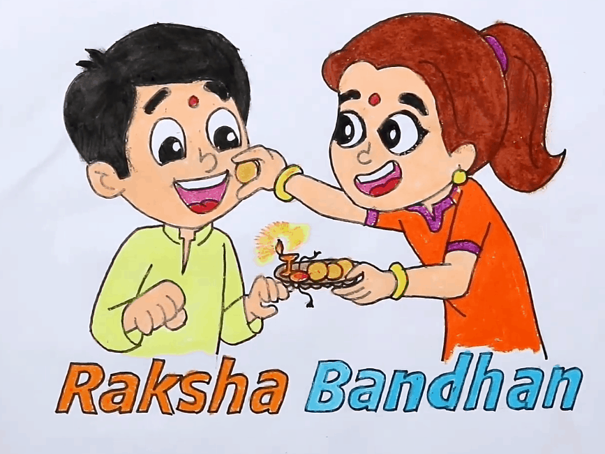 Raksha Bandhan Drawing