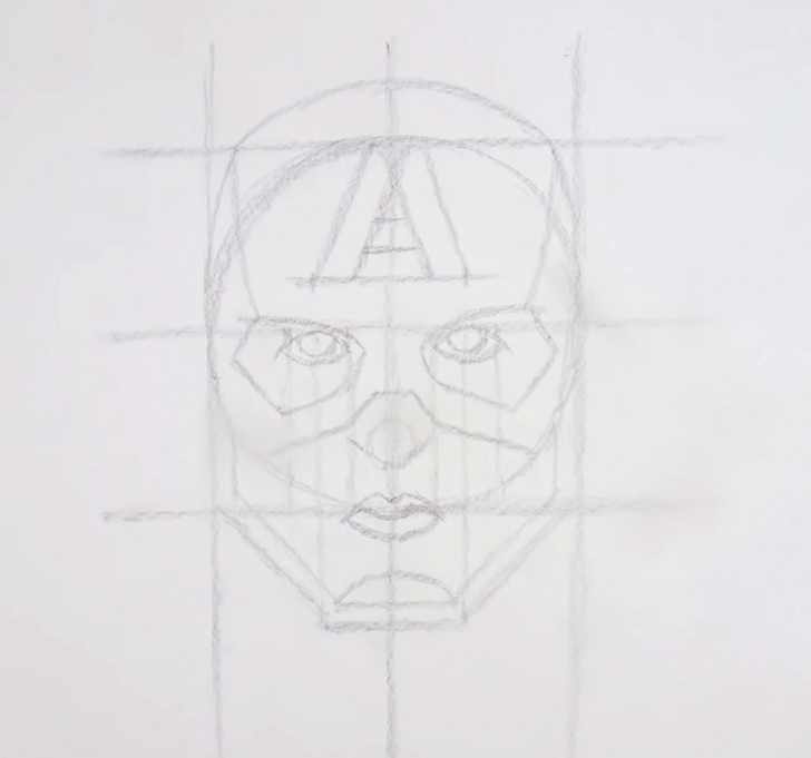 avengers drawing
